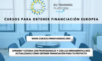 ¡La Fundación Finnova lanza una nueva web de cursos enfocada en la captación de Fondos Europeos!